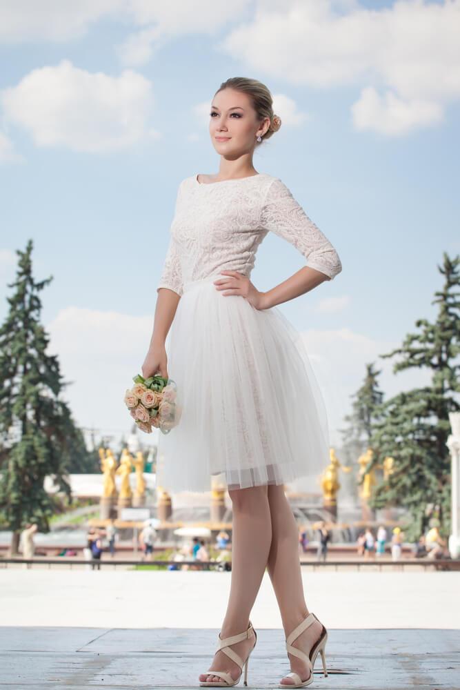 Svatební šaty nyní a před 100 lety 12