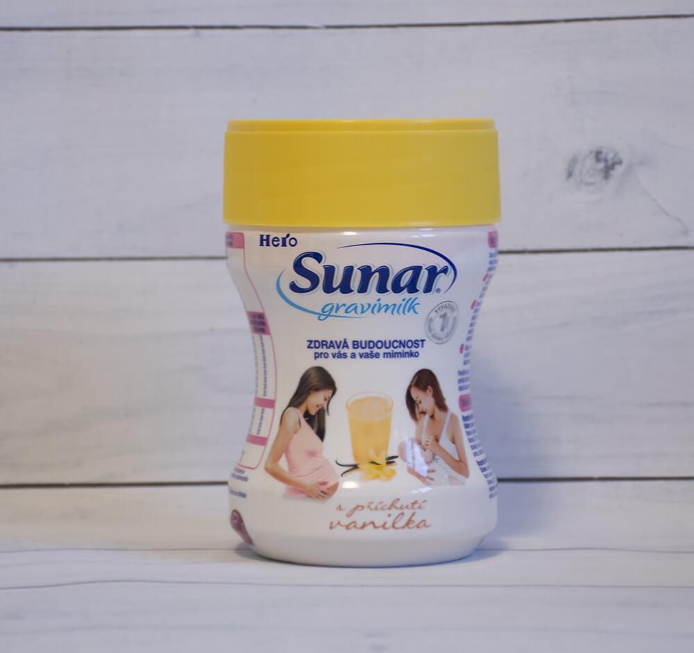 Vanilkový Sunar Gravimilk