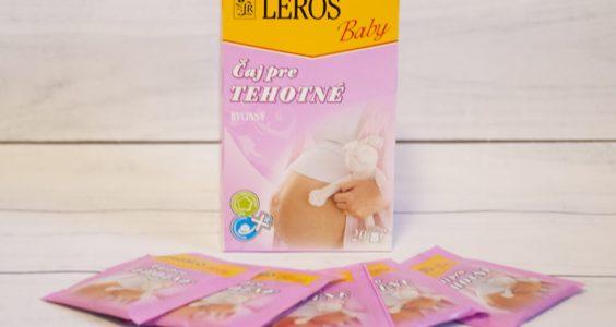 Ambasadorky - dotazník Leros čaj pro těhotné 13
