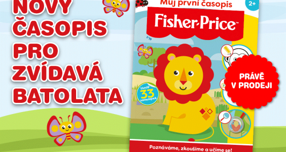 Časopis Fisher-Price
