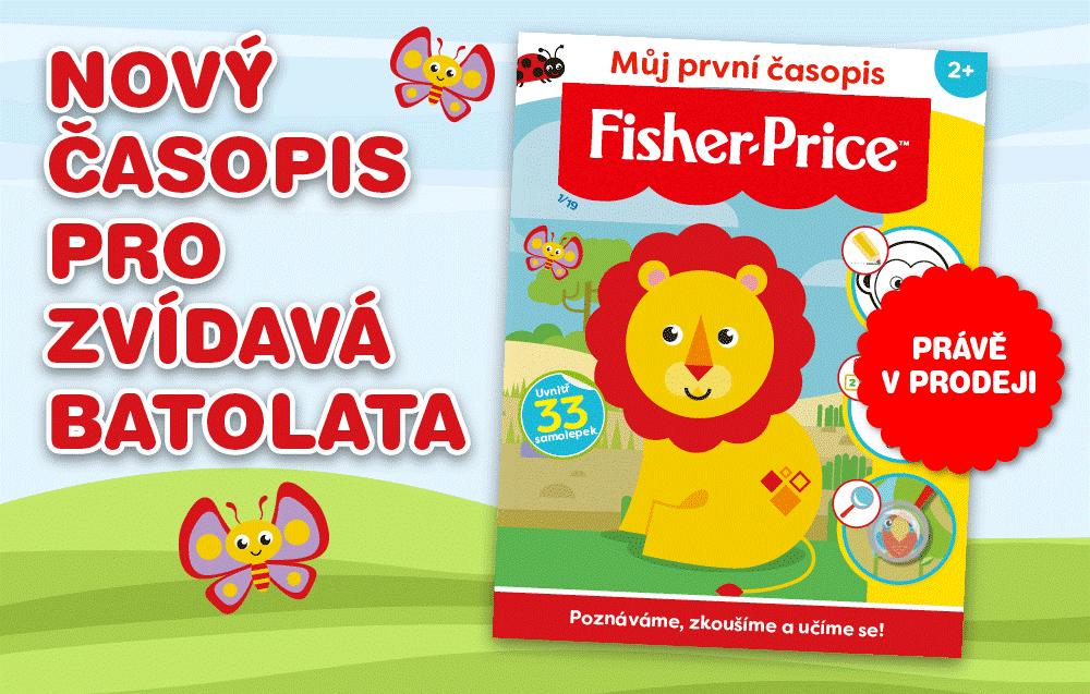 FISHER PRICE – časopis pro zvídavá batolata 1