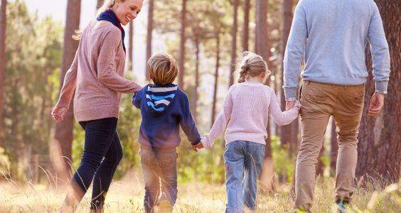 Tantum Family - rodina v lese