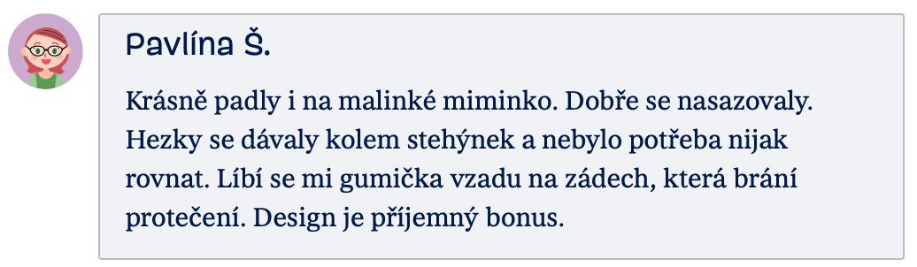 recenze Huggies maminka Pavlína Š.