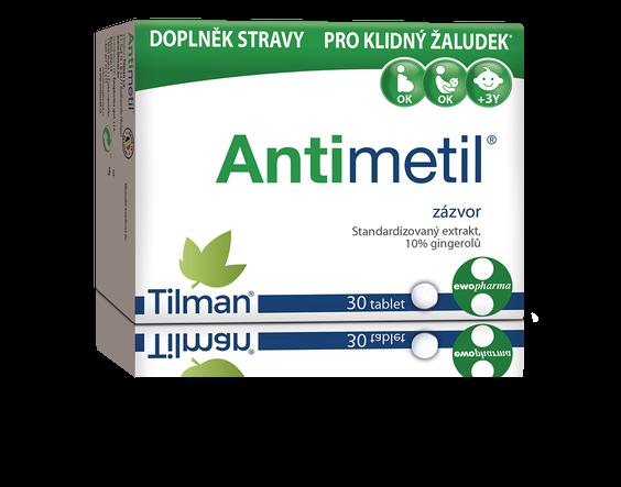 Výsledek testu Antimetil při těhotenské nevolnosti 2