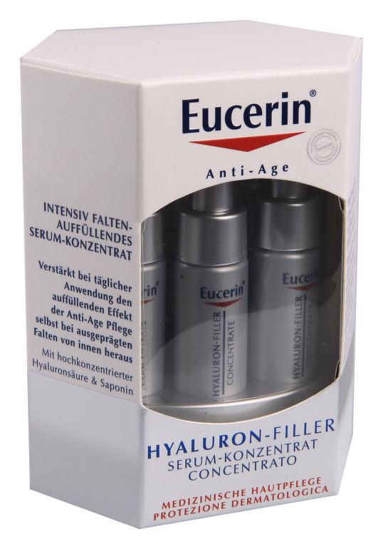 Eucerin Hyaluron Filler Sérum 6 ampulí po 5 ml
