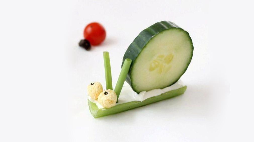 Zeleninový šnek