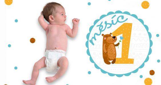 Vývoj miminka 1. měsíc