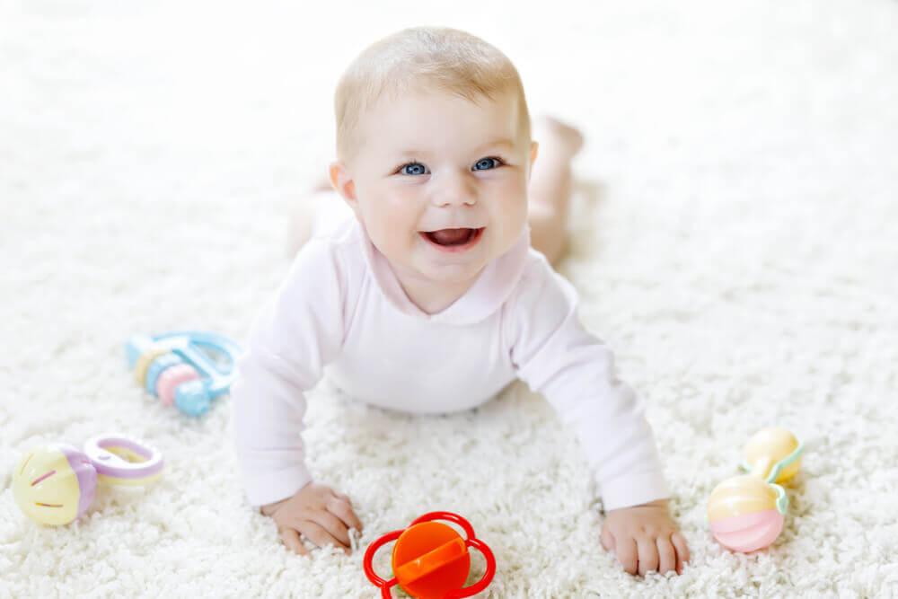 4 měsíční miminko