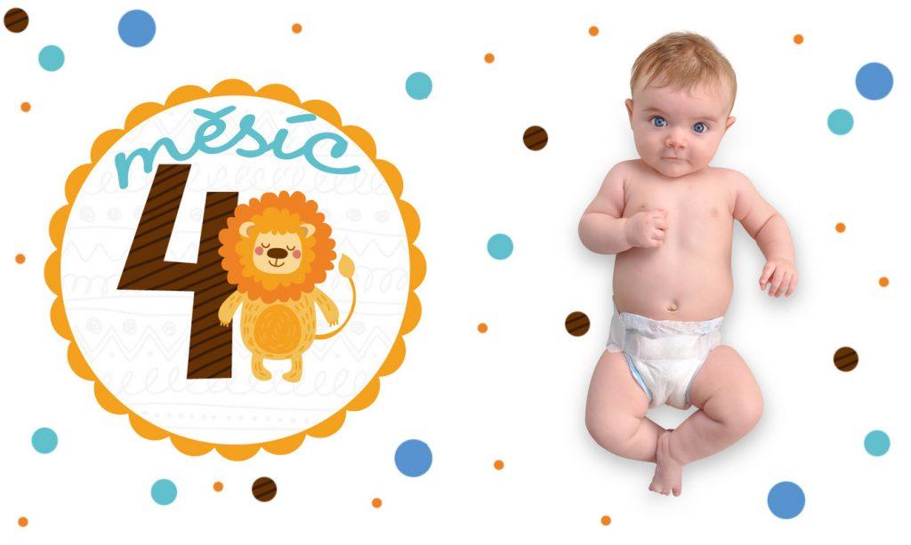 Vývoj miminka 4. měsíc
