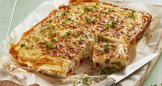 Lučinová fritata