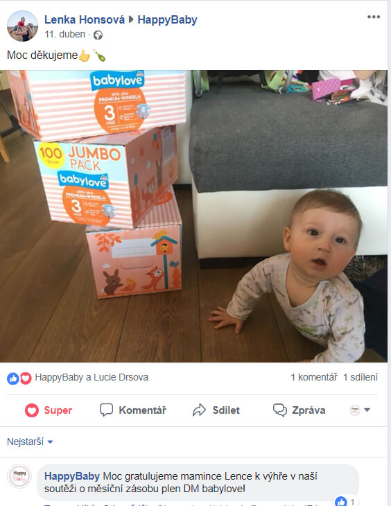 Výherce soutěže babylove