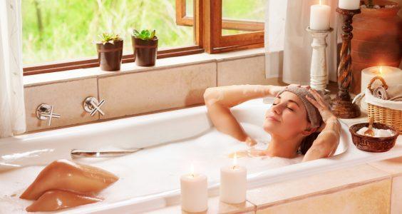 Relaxující koupel