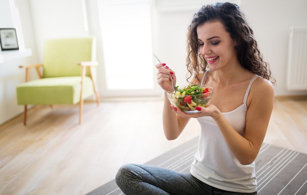 Žena pečující o zdravi