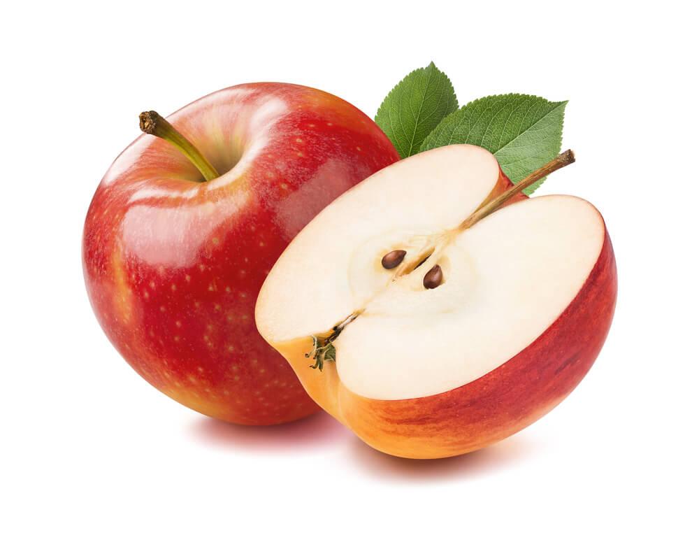 15 týden těhotenství - jablko
