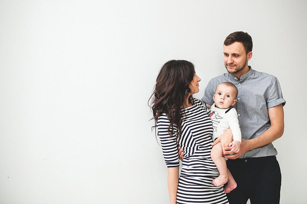 Miminko s rodiči