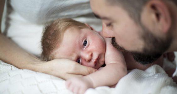 Miminko s tatínkem