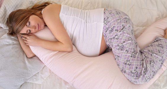 Těhotenská nespavost