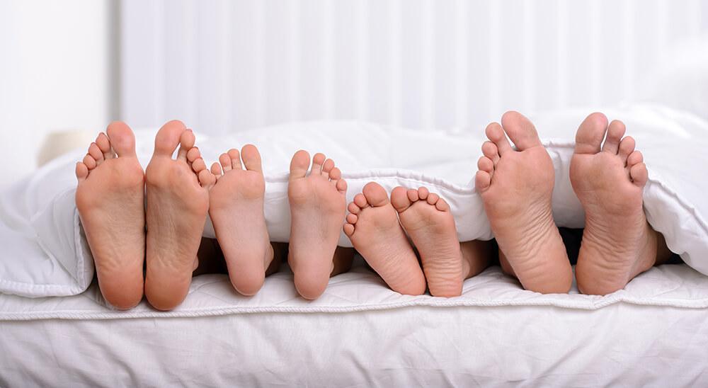 Společné spaní rodičů a dětí v jedné posteli 1