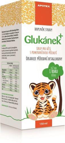 glukánek sirup pro děti