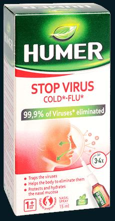Nosní sprej HUMER Stop Virus