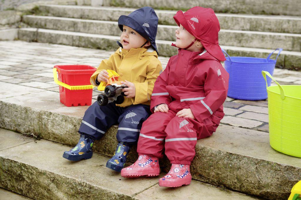 Děti mohou být venku bez ohledu na počasí! 3