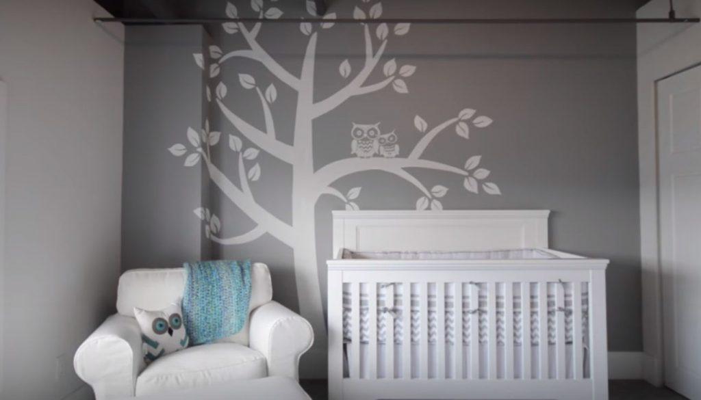 Zdroj Youtube malba na stěnu pokojíku pro miminko