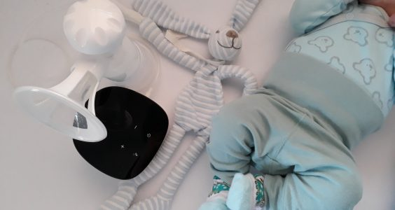 Spokojené miminko díky odsávačce LOVI