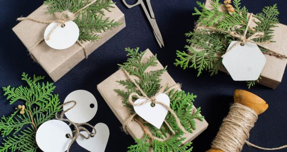 Inspirace na balení vánočních dárků 2
