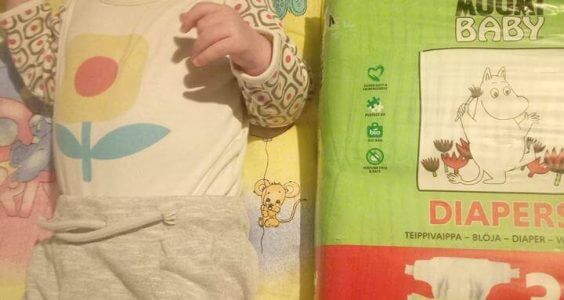 Výherci soutěže o plenky MUUMI BABY 2