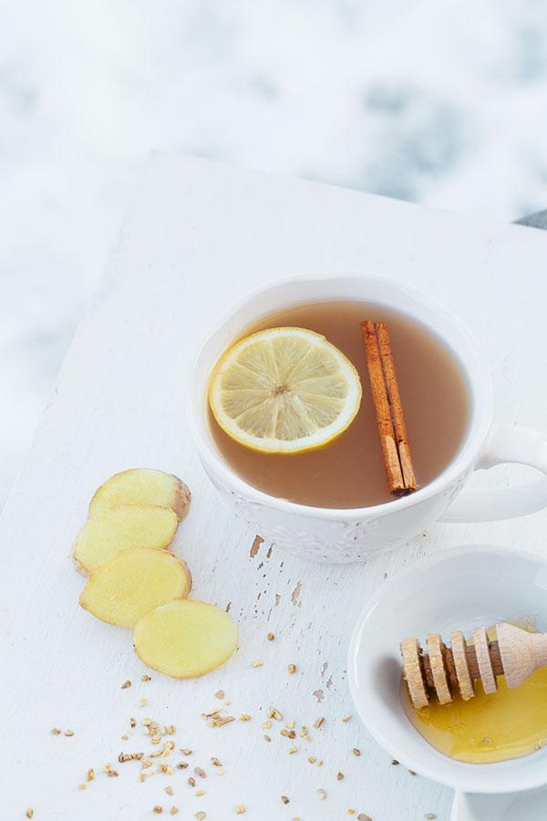 Zázvorový čaj 1