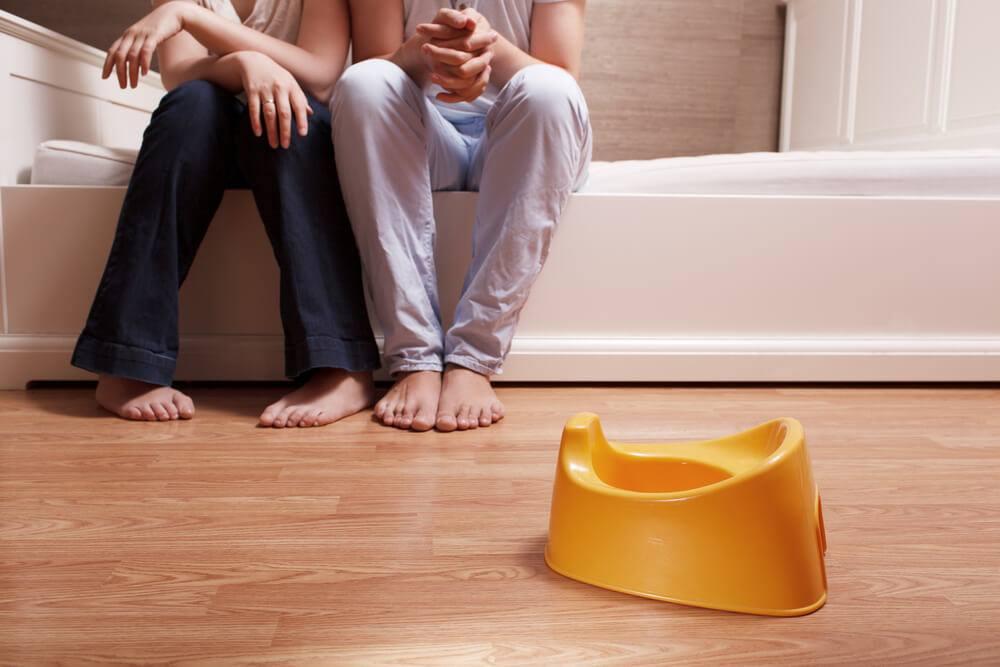 Jak učit dítě na nočník – pozor na rizika 1
