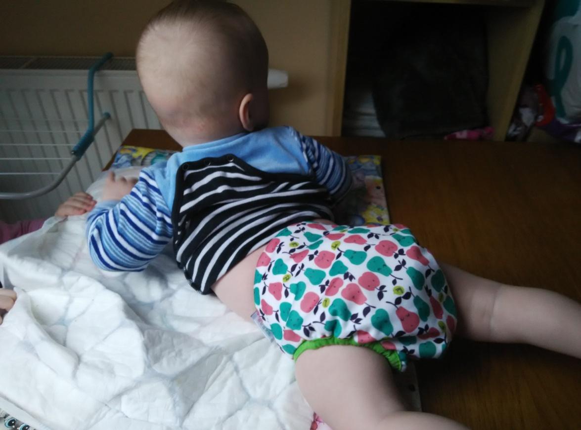 Maminka Dana testovala kalhotkové pleny Bobánek 4