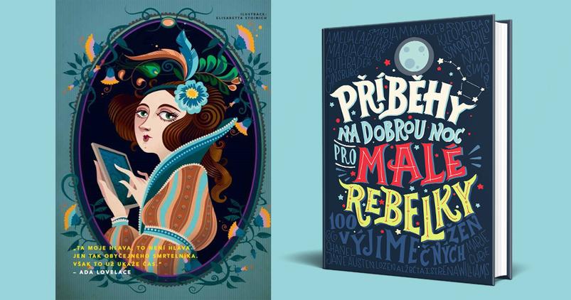 VÝHERCI - 5ti knih Příběhy na dobrou noc pro malé rebelky 1