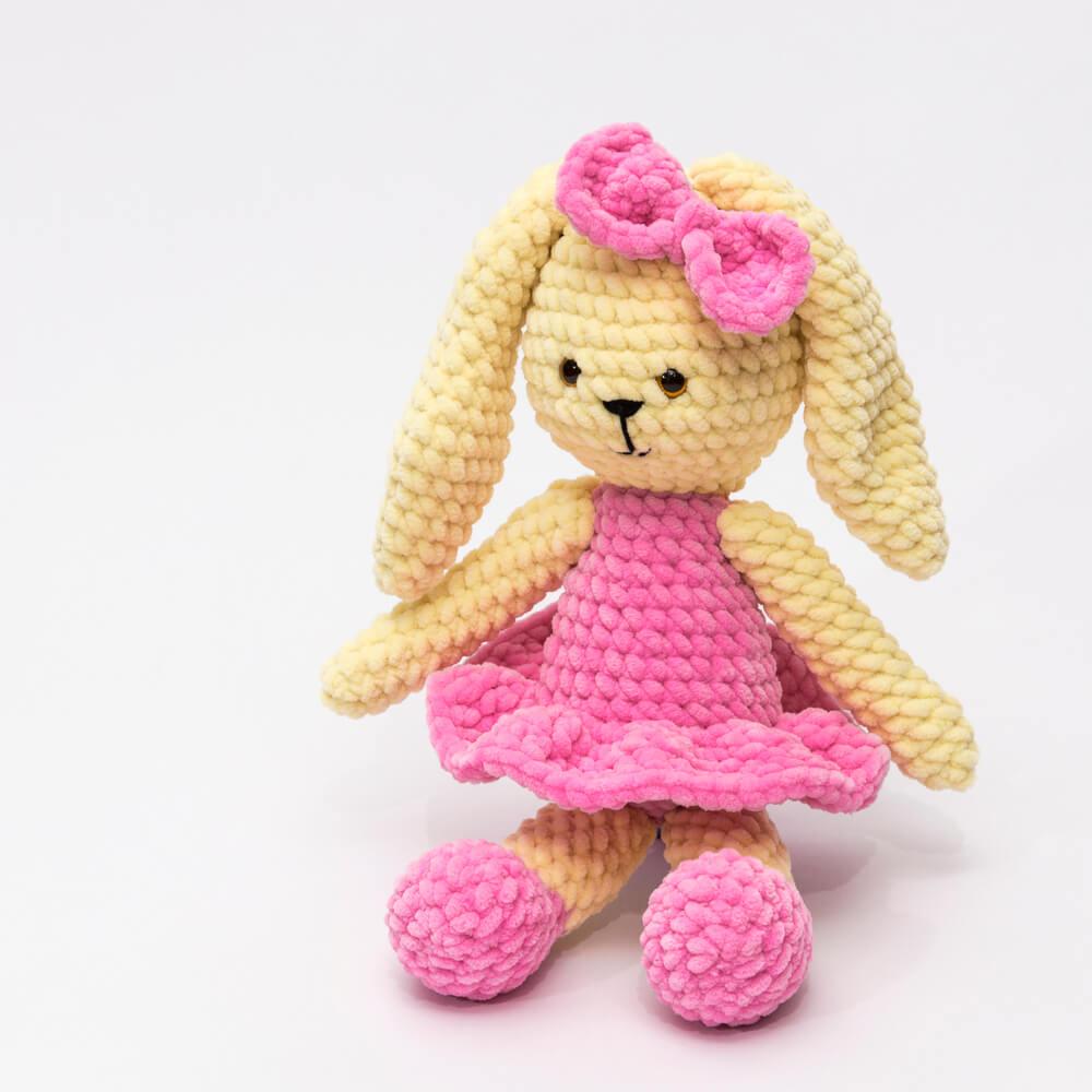 Háčkované hračky pro miminka 5