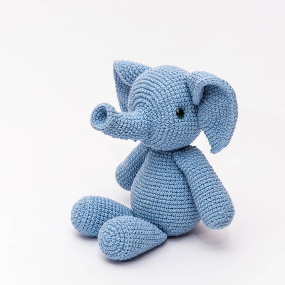 Háčkované hračky pro miminka 7