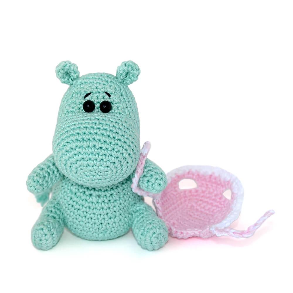 Háčkované hračky pro miminka 4
