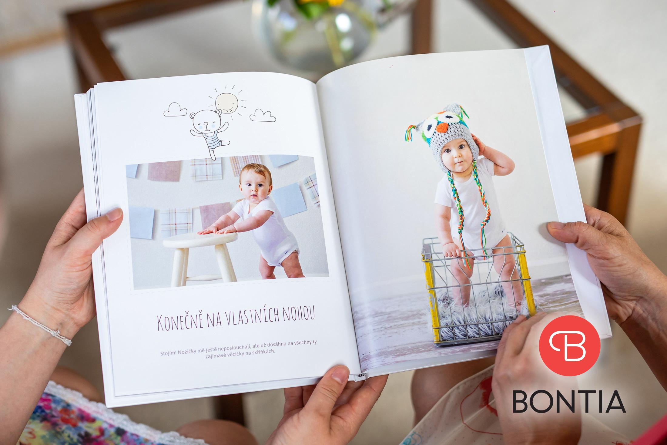 Fotokniha o vašem dítěti s55 % slevou 2