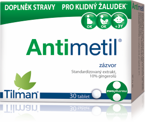 Antimetil - doplněk stravy pro klidný žaludek