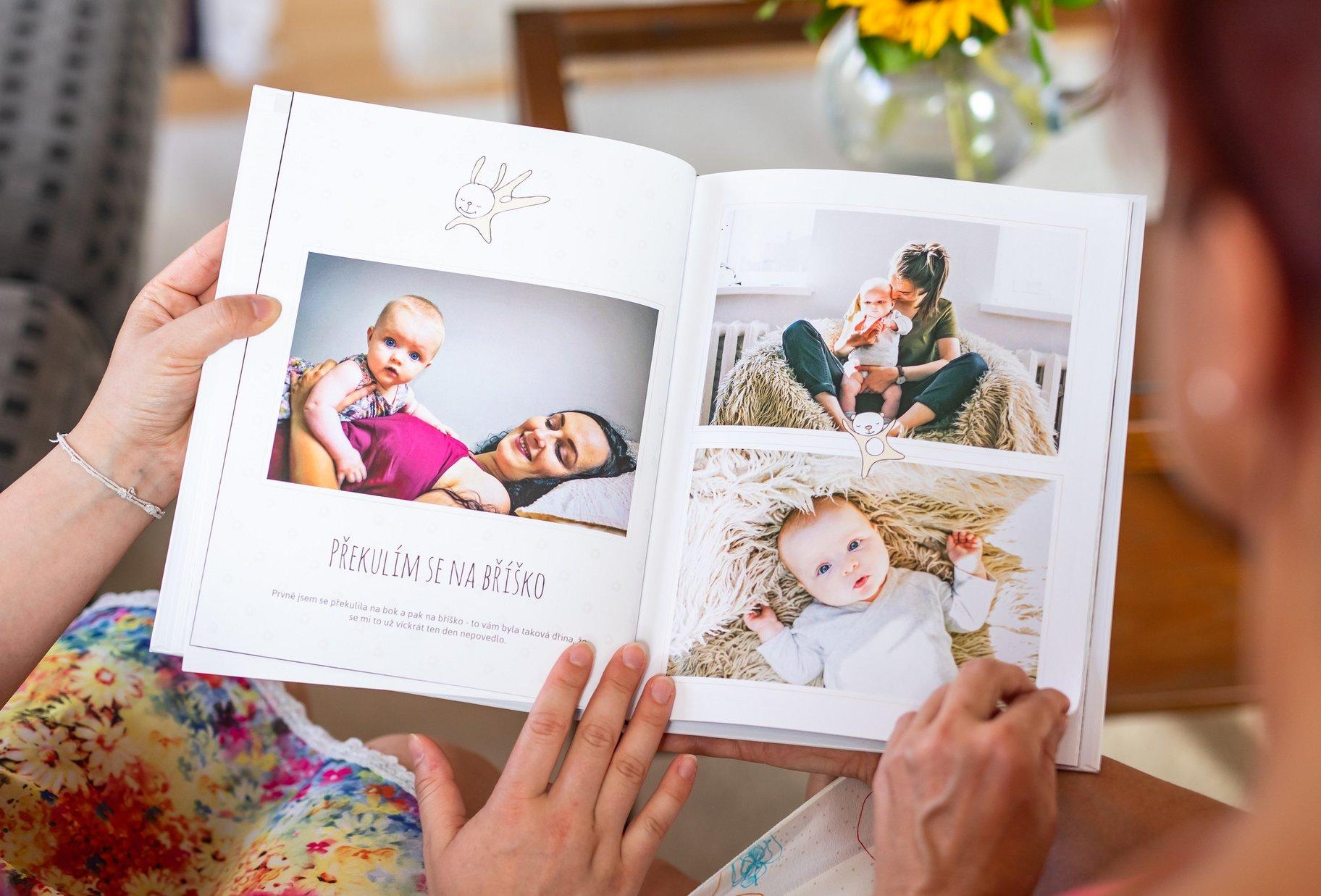 Fotokniha o vašem dítěti s55 % slevou 1