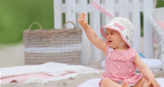 Miminka a děti na slunci, jak je ochránit? 1