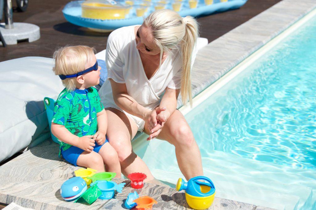 Miminka a děti na slunci, jak je ochránit? 3