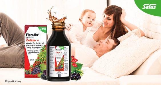 VÝHERCI - 3x doplněk stravy Salus Floradix Železo+ 3