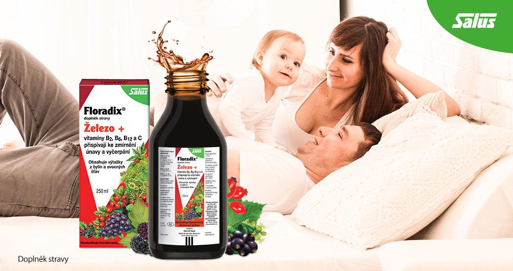VÝHERCI - 3x doplněk stravy Salus Floradix Železo+ 1