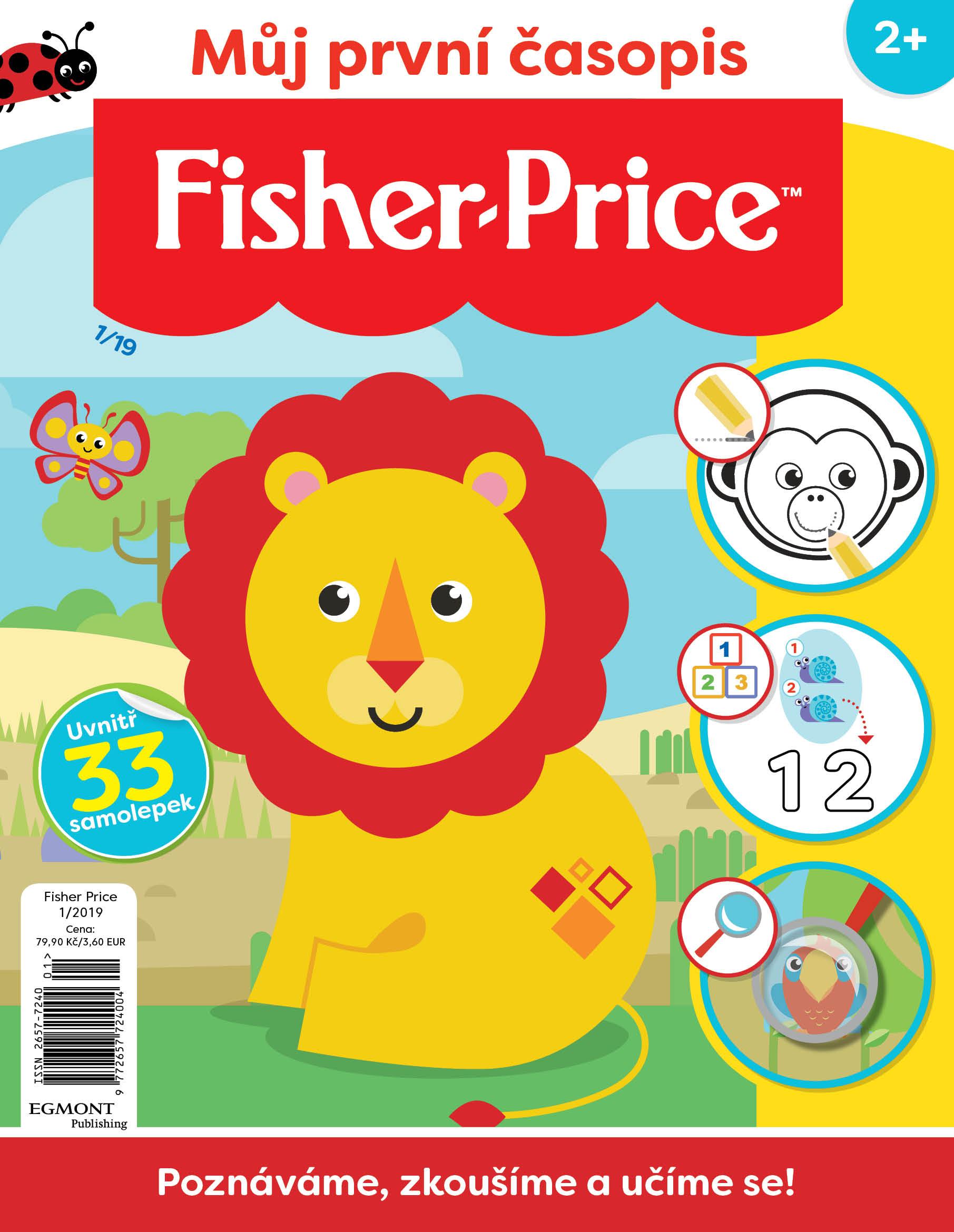 FISHER PRICE – časopis pro zvídavá batolata 2