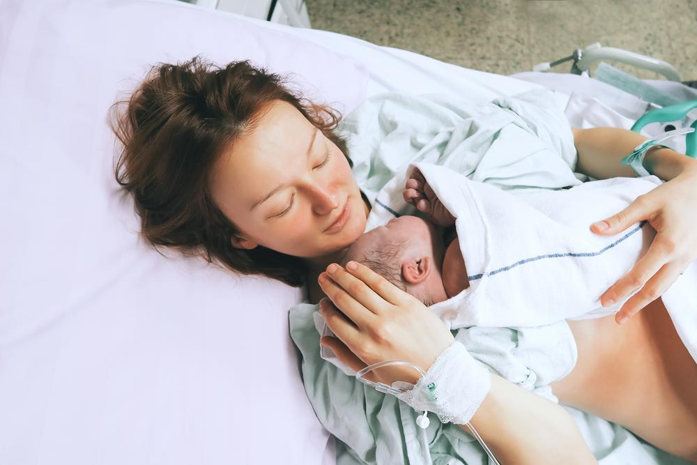 Klystýr při porodu 1