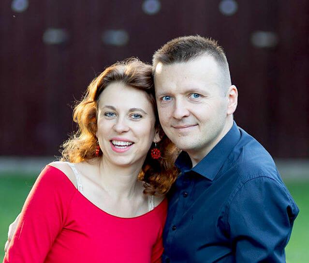 Lucie a Radek Chromí, WWW.PARTNERSKESLADENI.CZ