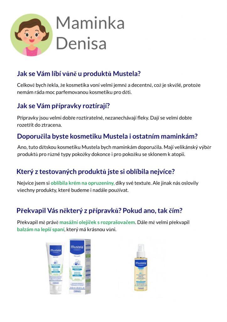 Výsledky testování kosmetiky Mustela 6
