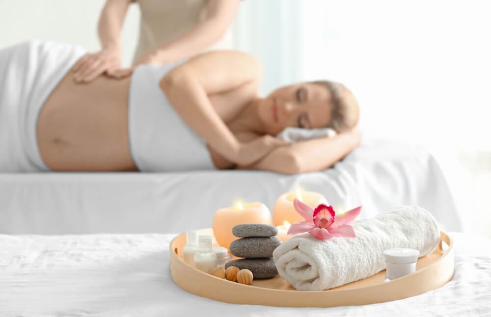 Masáž během těhotenství 1