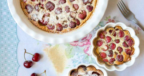 Třešňový koláč Clafoutis 2