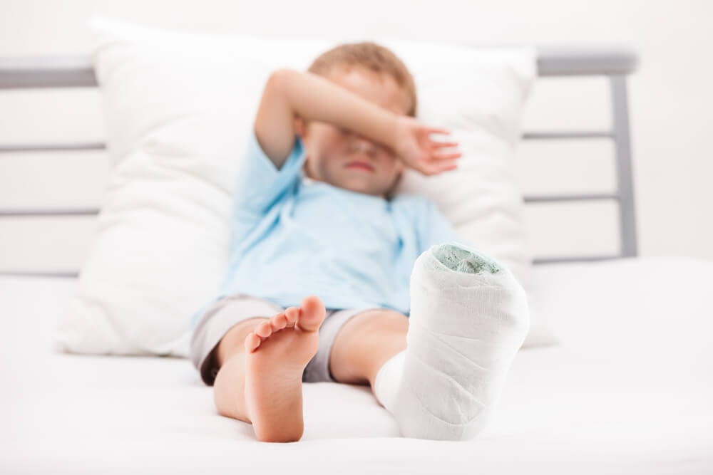 zranění dětí